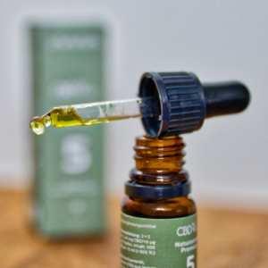 Einnahme von CBD-Öl zur Verbesserung des Schlafs (hier: CBDvital)