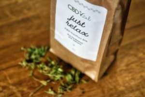 Auch als CBD-Tee verfügbar (hier: CBDvital)
