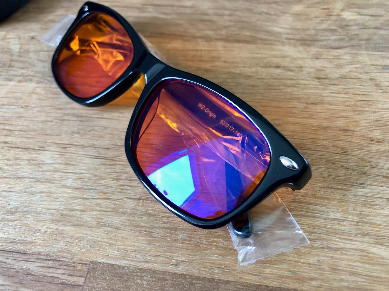 Wizion Blaulichtfilter Brille Schutzfolie