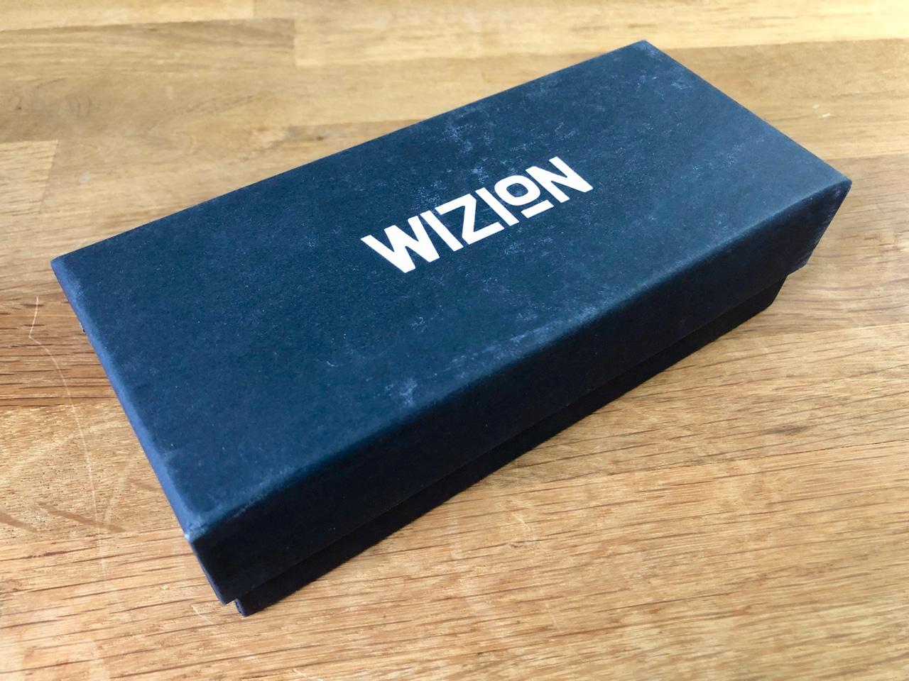 Wizion Blaulichtfilter Brille Verpackung